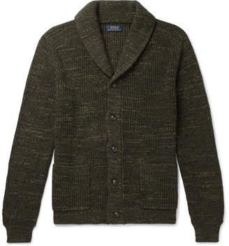 Polo Ralph Lauren Shawl-Collar Mélange Cotton Cardigan