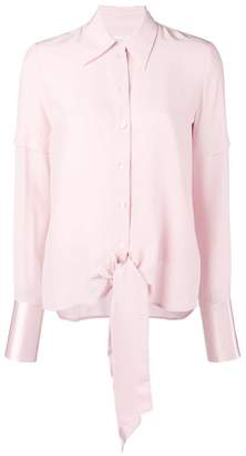 Victoria Beckham Victoria long-sleeve fitted blouse