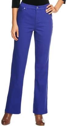 Liz Claiborne New York Regular Jackie Boot Cut 5-Pocket Jeans