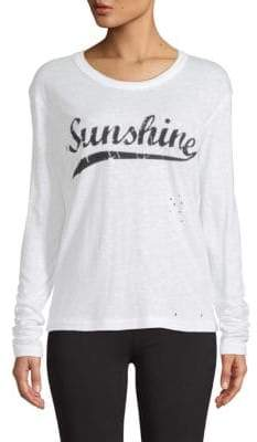 Zadig & Voltaire Willy Sunshine Long-Sleeve Tee