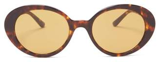 The Row X Oliver Peoples Parquet Sunglasses - Womens - Brown