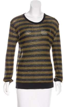 Alexander Wang Long Sleeve Striped T-Shirt