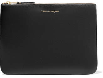 Comme des Garcons Leather Pouch - Black