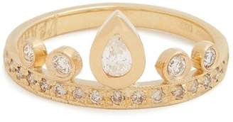 Jacquie Aiche Diamond & Yellow Gold Ring - Womens - Gold