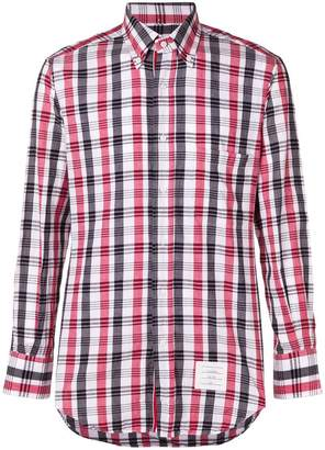 Thom Browne check print shirt