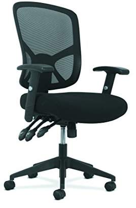 HON Sadie Customizable Ergonomic High-Back Mesh Task Chair with Arms and Lumbar Support - Ergonomic Computer/Office Chair (HVST121)