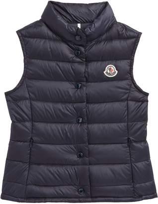 Moncler Liane Quitled Down Water Resistant Vest