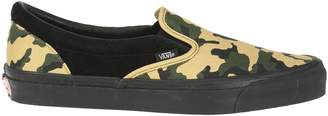 Vans Og Classic Slip On Camo Black