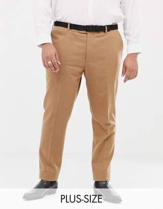 Gianni Feraud Plus slim fit wool blend suit pants