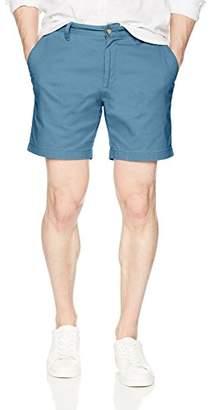 Nautica Men's Cotton Twill Flat Front Stretch Chino Short