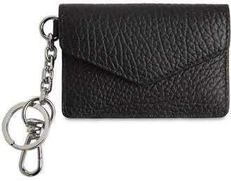 Maison Margiela Grainy Leather Chain Card Holder