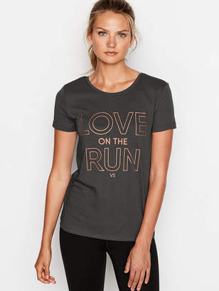 Victoria Sport Ruched-back Tee