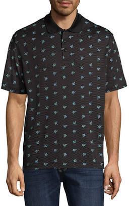 Haggar Short Sleeve Knit Polo Shirt