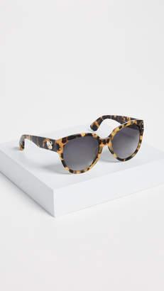 Moschino Bear Logo Sunglasses