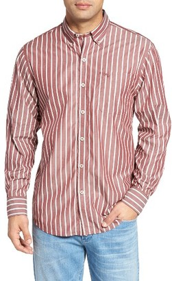 Men's Big & Tall Tommy Bahama Cabana Stripe Sport Shirt $148 thestylecure.com