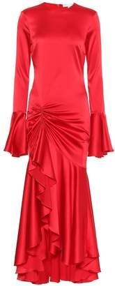 Caroline Constas Monique silk-blend midi dress
