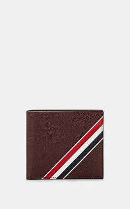 Thom Browne Men's Leather Billfold - Wine
