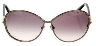 Tom Ford Iris Oversize Sunglasses
