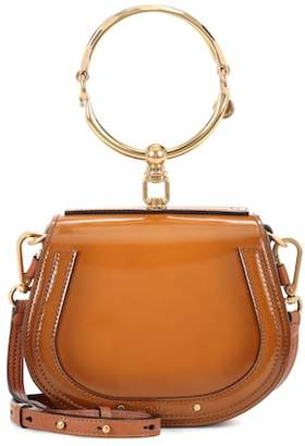 Chloé Small Nile patent leather bracelet bag