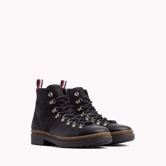 Tommy Hilfiger Suede & Leather Hiking Boot
