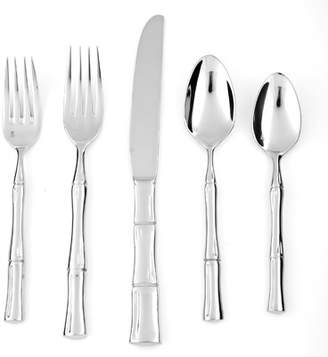 Fortessa Royal Pacific 5 Piece 18/10 Stainless Steel Flatware Set
