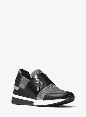 Michael Kors Chelsie Glitter Mesh Sneaker
