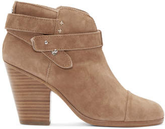 Rag & Bone Camel Suede Harrow Boots