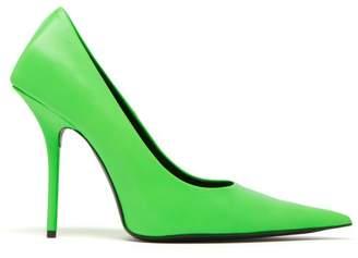 Balenciaga Square Knife Pumps - Womens - Green