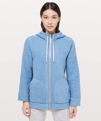 Lululemon So Sherpa Hooded Jacket