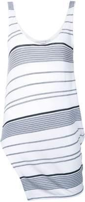 Stella McCartney striped asymmetric top