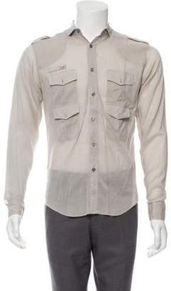 Christian Dior Button-Up Safari Shirt