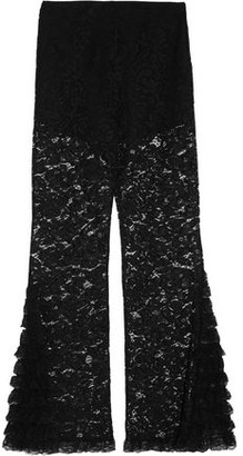 Givenchy Cotton-Blend Corded Lace Flared Pants