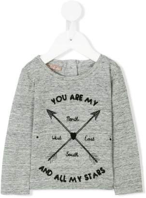 Emile et Ida Arrow Print T-shirt