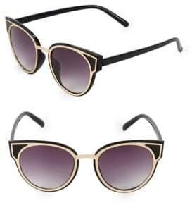 Fantas-Eyes 50MM Round Sunglasses