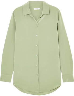 Equipment Essential Washed-silk Shirt - Army green