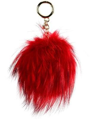 MICHAEL Michael Kors Keychain In Fox Fur