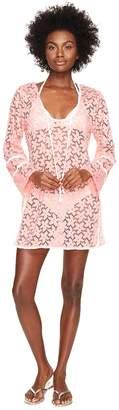 Letarte Lace Tunic Cover-Up Women's Swimwear