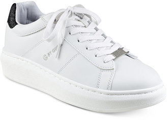 G by GUESS Charly Platform Lace-Up Sneakers $59 thestylecure.com