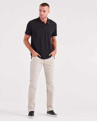 7 For All Mankind Total Twill The Straight with Clean Pocket in White Onyx