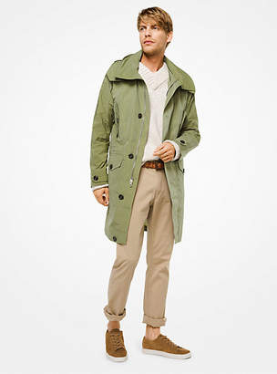 Michael Kors Washed Nylon Anorak