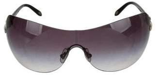 Tiffany & Co. Rimless Tinted Sunglasses