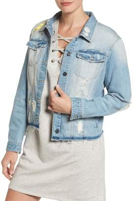 Sanctuary Milkyway Walker Denim Jacket (Petite)