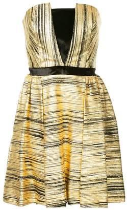 Ingie Paris strapless short dress