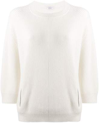 Brunello Cucinelli zip-detail sweater