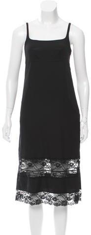 Marc JacobsMarc Jacobs Chemise Lace-Trimmed Dress