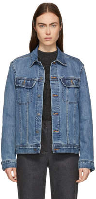 A.P.C. Blue Denim US Jacket