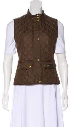 Belstaff Quilted Stand Collar Vest