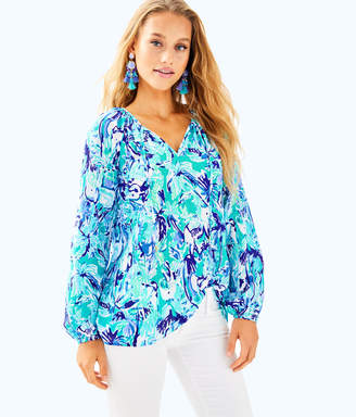 Lilly Pulitzer Womens Willa Tunic Top