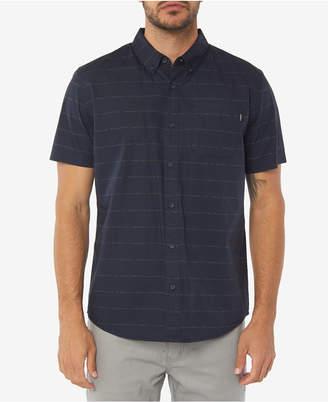 O'Neill Men McKenna Standard-Fit Micro Printed Poplin Shirt