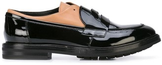 AGL strap detail loafers